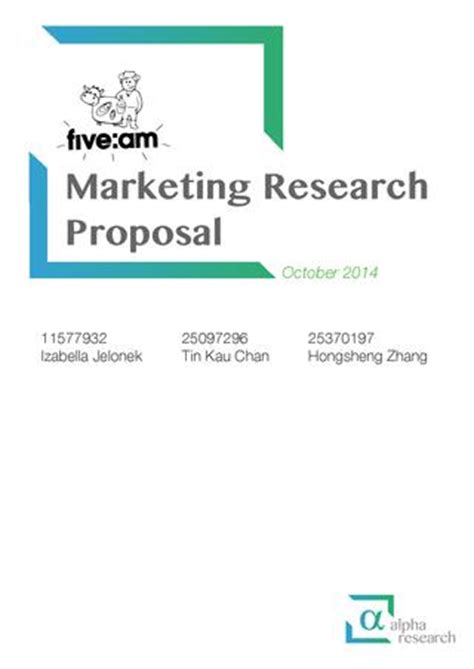 How to write a Psychology Research Proposal - a free guide